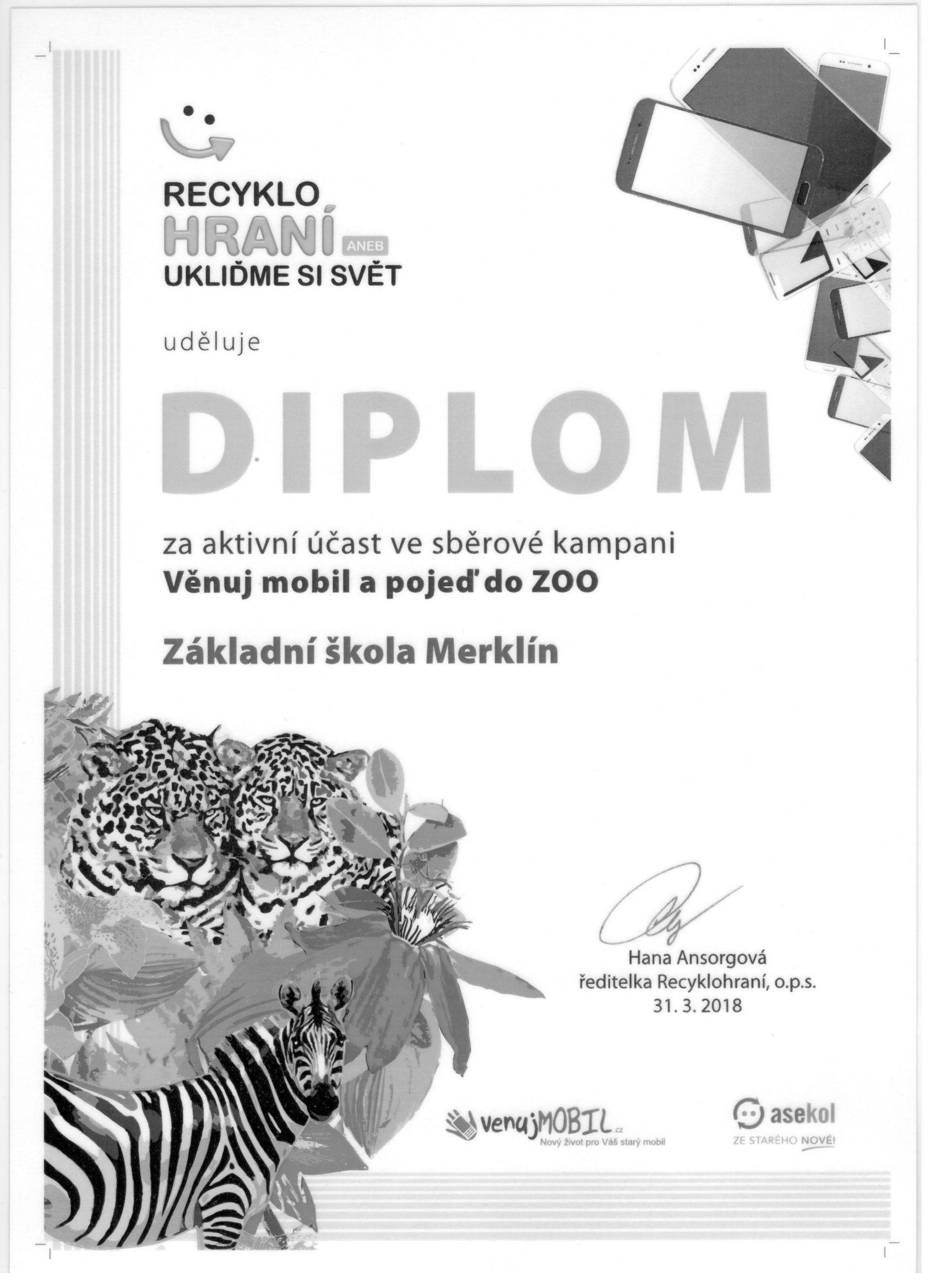 Letošní úspěchy v recyklohraní