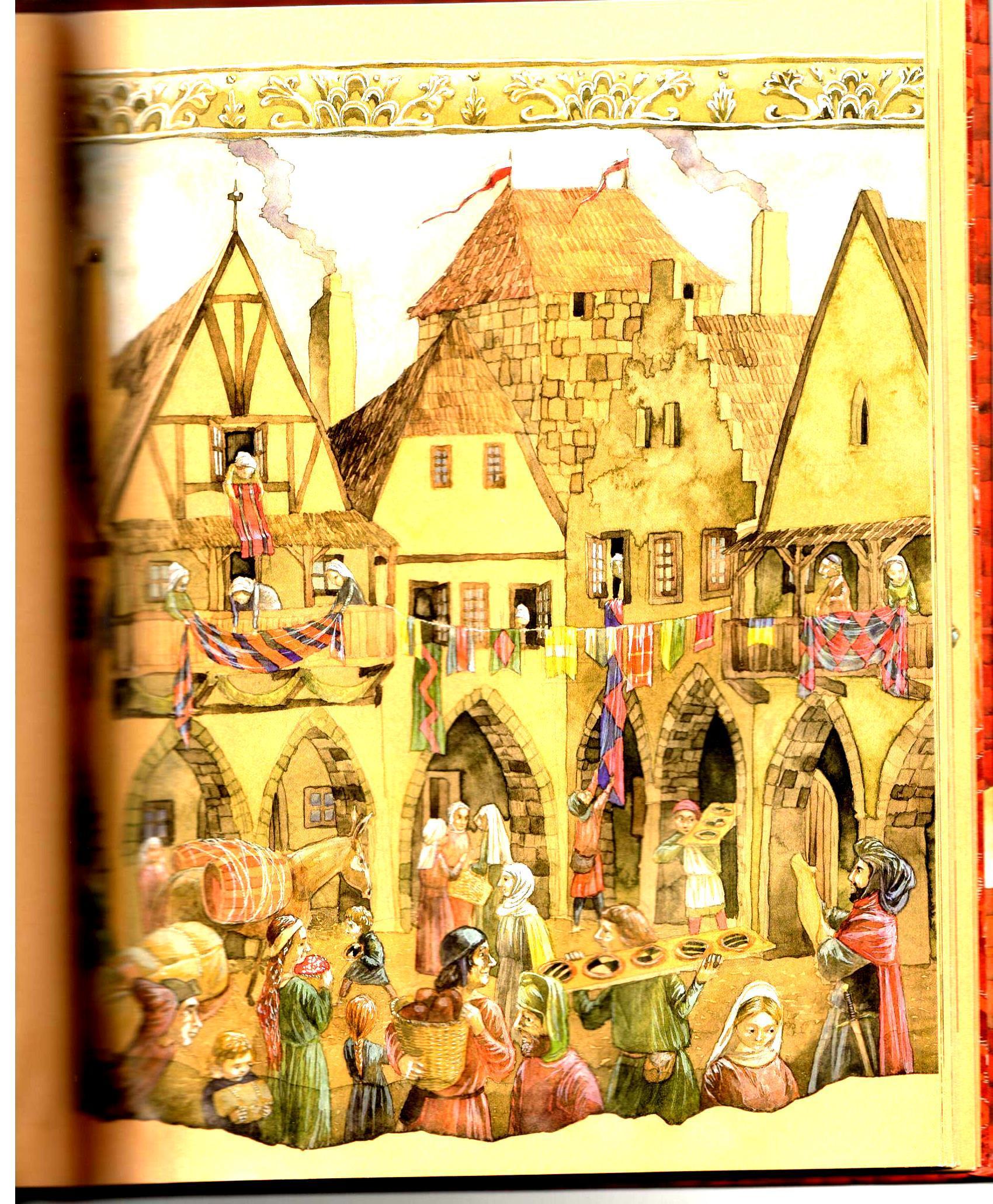 Středověké město